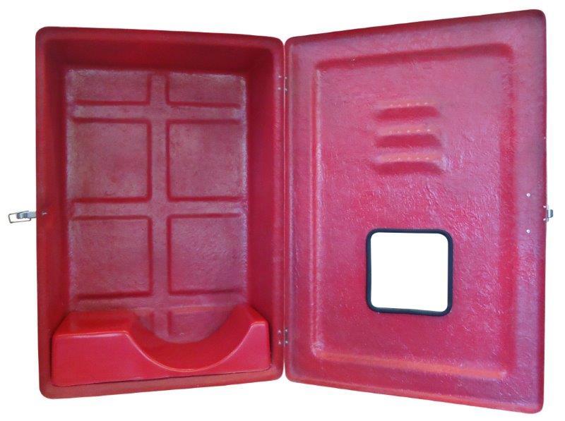 Caixa para mangueira de incêndio