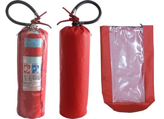 Capa de proteção para extintores