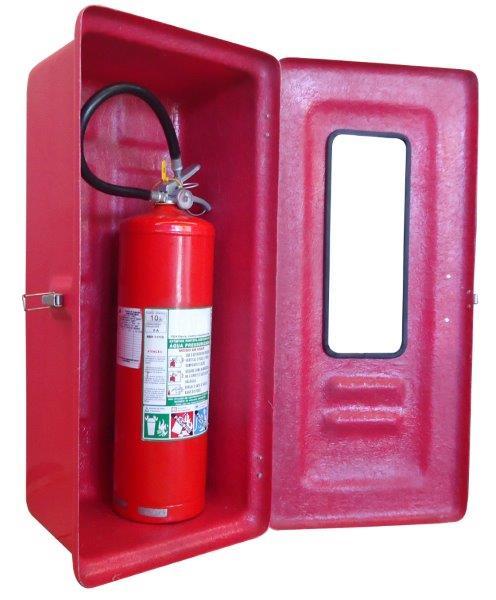 Abrigo para extintor