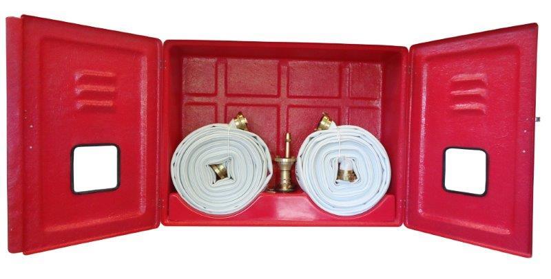 Caixa de incêndio em fibra de vidro