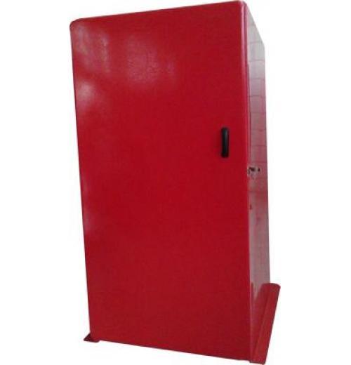 Abrigo para extintor sobre rodas - Modelo 1579P