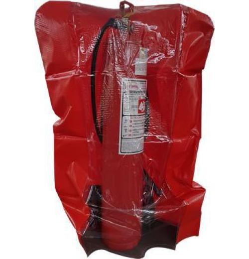 Capa Lona PVC - para extintores sobre rodas