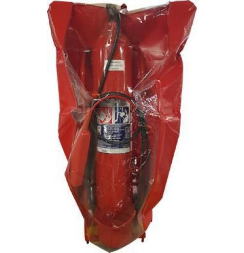 Capa Sanlux - para extintores sobre rodas