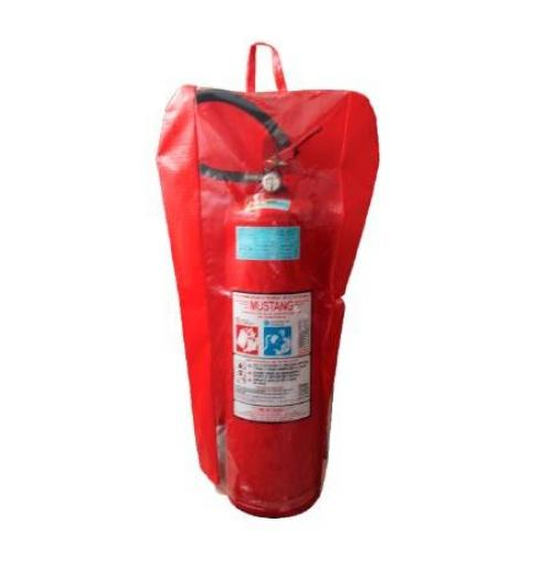 PVC com visor – extintor portátil