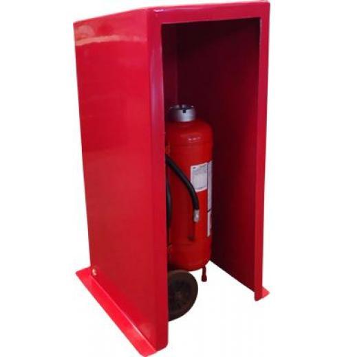 Abrigo para extintor sobre rodas - Modelo 1155