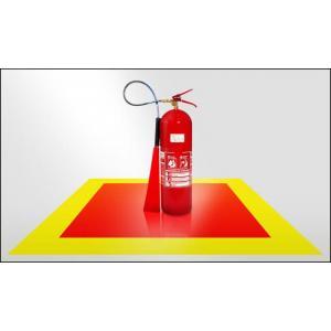 Adesivo demarcador de extintor